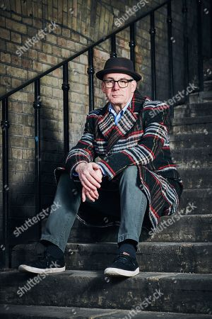 Stock Image of London United Kingdom - January 31: Portrait Of English Journalist Novelist And Screenwriter David Quantick Photographed In London To Promote His Book All My Colors On January 31