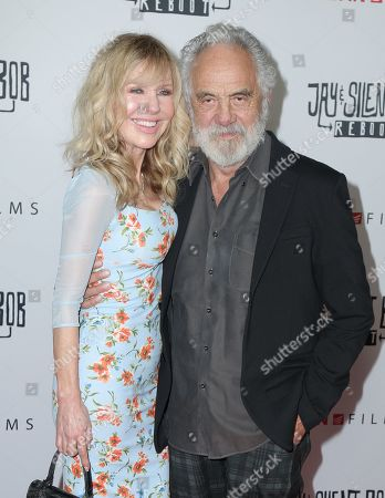 Stock Picture of Tommy Chong, Shelby Chong