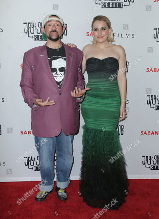 Stock Photo of Kevin Smith, Harley Quinn Smith