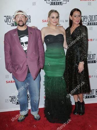Kevin Smith, Harley Quinn Smith, Jennifer Schwalbach Smith