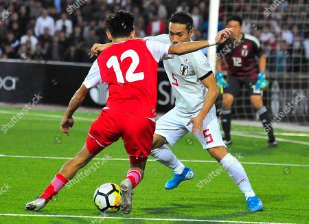 Editorial image of Japan WCup Soccer, Dushanbe, Tajikistan - 15 Oct 2019