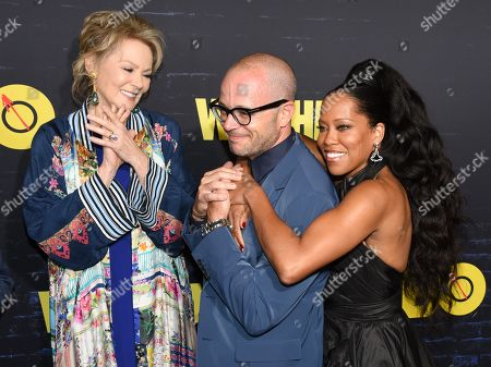Stock Picture of Jean Smart, Damon Lindelof, Regina King