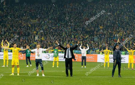 Editorial image of Ukraine v Portugal, International football match, Kiev, Ukraine - 14 Oct 2019