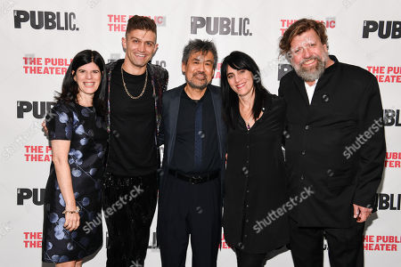 Editorial photo of 'Soft Power' play opening night, Arrivals, The Public Theater, New York, USA - 15 Oct 2019