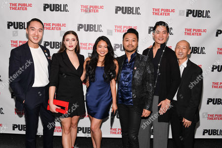 Editorial picture of 'Soft Power' play opening night, Arrivals, The Public Theater, New York, USA - 15 Oct 2019