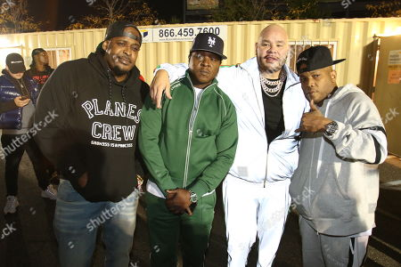 Stock Image of Sean Divine Jacobs, Jadakiss, Fat Joe and Styles P.