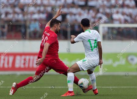 Editorial picture of Palestine Saudi Arabia FIFA - 15 Oct 2019