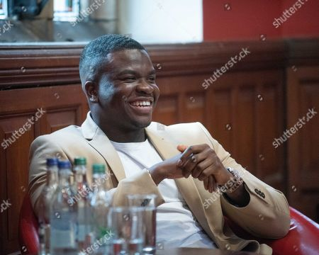 Editorial photo of Michael Dapaah at the Oxford Union, Oxford, UK - 08 Oct 2019