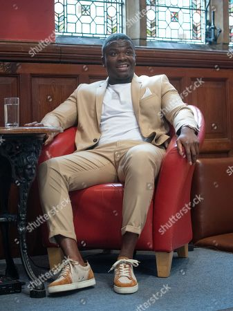 Stock Photo of Michael Dapaah speaking at Oxford Union