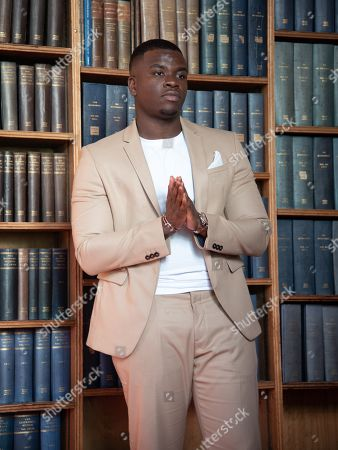 Stock Picture of Michael Dapaah speaking at Oxford Union