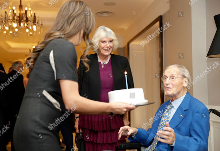 Editorial image of Oscar Wilde Society reception, London, UK - 15 Oct 2019