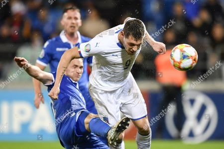 Editorial image of Liechtenstein vs Italy, Vaduz - 15 Oct 2019