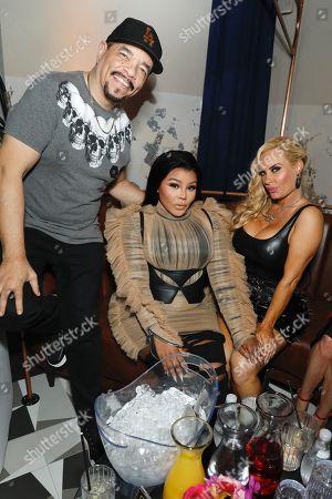 Ice-T, Lil Kim and Nicole Coco Austin