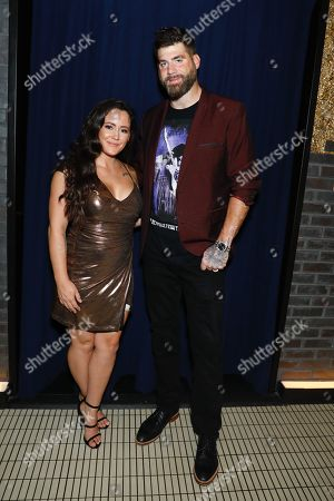 Stock Picture of Jenelle Evans and David Eason