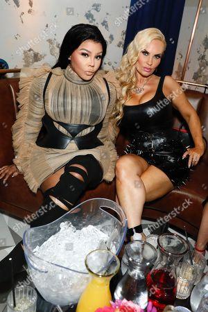 Lil Kim and Nicole Coco Austin