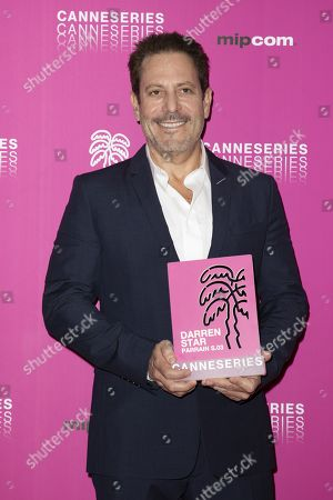 Stock Picture of Darren Star, Canneseries 2020 season 03 patron.
