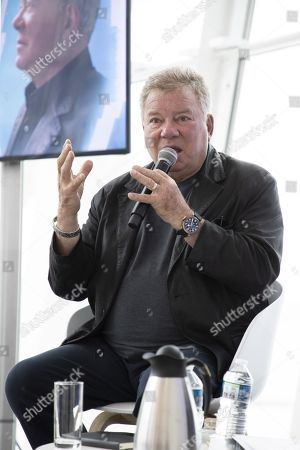 Editorial picture of William Shatner press conference, MIPCOM Cannes, France - 15 Oct 2019
