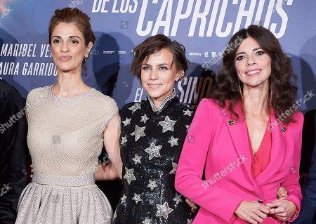 Maribel Verdu, Aura Garrido, Ruth Gabriel