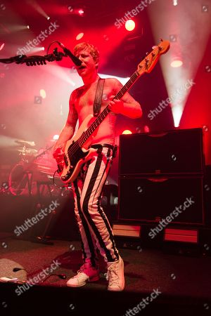 Editorial image of Biffy Clyro in concert at the Roundhouse in London, UK - 15 Oct 2019