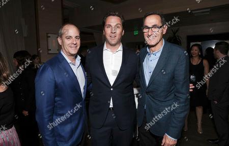 David Nevins, Matthew Belloni and Josh Sapan
