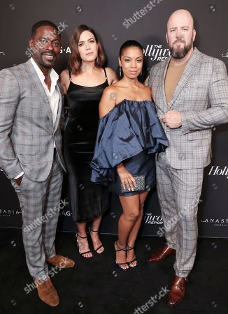 Stock Picture of Sterling K. Brown, Mandy Moore, Susan Kelechi Watson and Chris Sullivan