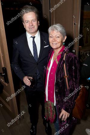 John Flanagan and Tracy Edwards