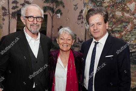Jonathan Pryce, John Flanagan and Tracy Edwards