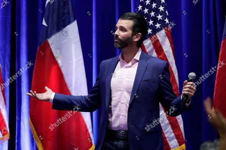 Editorial photo of Election 2020 Trump Texas, San Antonio, USA - 15 Oct 2019