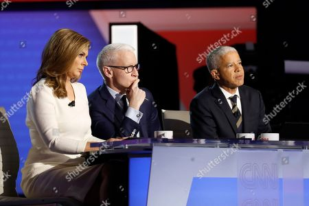Editorial picture of Election 2020 Debate, Westerville, USA - 15 Oct 2019