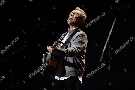 Steven Curtis Chapman performs during the Dove Awards, in Nashville, Tenn