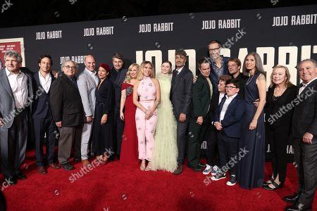 Editorial image of 'Jojo Rabbit' film premiere, Arrivals, Hollywood American Legion, Los Angeles, USA - 15 Oct 2019