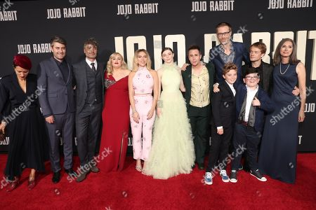 Editorial picture of 'Jojo Rabbit' film premiere, Arrivals, Hollywood American Legion, Los Angeles, USA - 15 Oct 2019