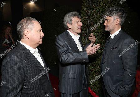 Co-Chairman of Walt Disney Studios Alan Bergman, Co-Chairman of Walt Disney Studios Alan Horn and Taika Waititi