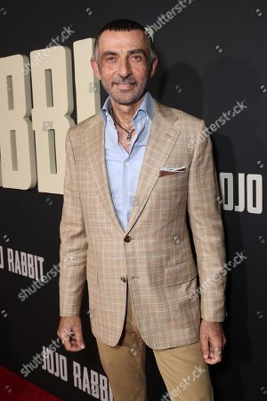 Editorial photo of 'Jojo Rabbit' film premiere, Arrivals, Hollywood American Legion, Los Angeles, USA - 15 Oct 2019