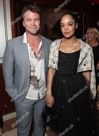Luke Hemsworth and Tessa Thompson