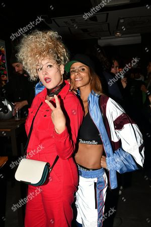 Corinne Hermes and Shy'm