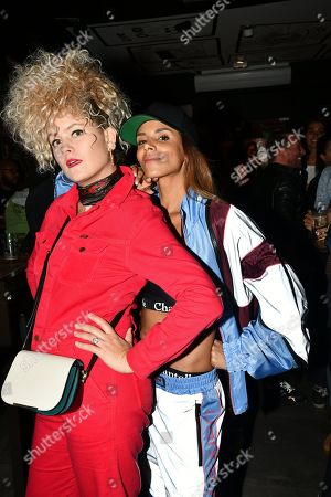 Stock Picture of Corinne Hermes and Shy'm