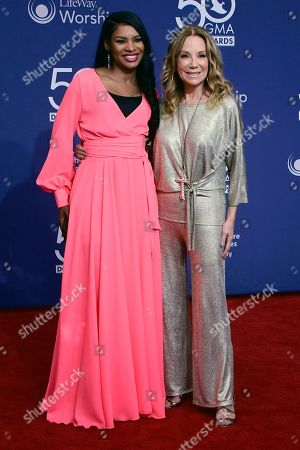 Stock Picture of Kathie Lee Gifford and Nicole C. Mullen