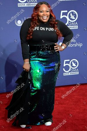 Editorial picture of GMA Dove Awards, Arrivals, Lipscomb University, Nashville, Tennessee, USA - 15 Oct 2019
