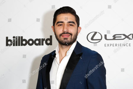 Joss Favela arrives at the Billboard Latin AMA Fest at NeueHouse, in Hollywood, Los Angeles, California, USA, 15 October 2019. The Billboard Latin AMAs will take place in Los Angeles, California on 17 October 2019.