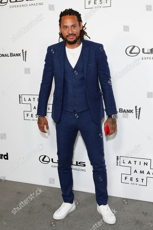US soccer player Jermaine Jones arrives at the Billboard Latin AMA Fest at NeueHouse, in Hollywood, Los Angeles, California, USA, 15 October 2019. The Billboard Latin AMAs will take place in Los Angeles, California on 17 October 2019.