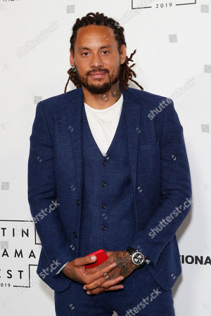 Stock Picture of US soccer player Jermaine Jones arrives at the Billboard Latin AMA Fest at NeueHouse, in Hollywood, Los Angeles, California, USA, 15 October 2019. The Billboard Latin AMAs will take place in Los Angeles, California on 17 October 2019.
