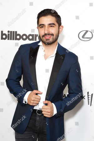 Stock Photo of Joss Favela arrives at the Billboard Latin AMA Fest at NeueHouse, in Hollywood, Los Angeles, California, USA, 15 October 2019. The Billboard Latin AMAs will take place in Los Angeles, California on 17 October 2019.
