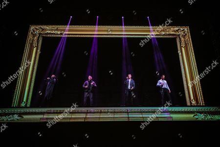 Shane Lynch, Mikey Graham, Ronan Keating and Keith Duffy - Boyzone