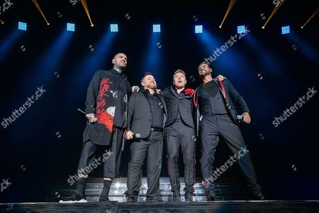 Editorial photo of Boyzone in concert at the Resorts World Arena, Birmingham, UK - 15 Oct 2019