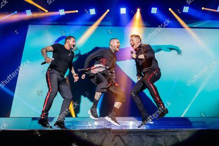 Keith Duffy, Shane Lynch and Ronan Keating - Boyzone