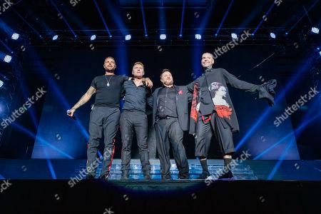 Keith Duffy, Ronan Keating, Mikey Graham and Shane Lynch - Boyzone