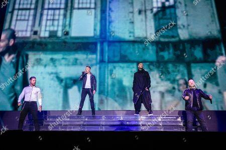 Keith Duffy, Ronan Keating, Shane Lynch and Mikey Graham - Boyzone