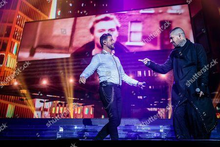Keith Duffy and Shane Lynch - Boyzone