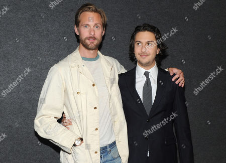 Alexander Skarsgard and Nat Wolff